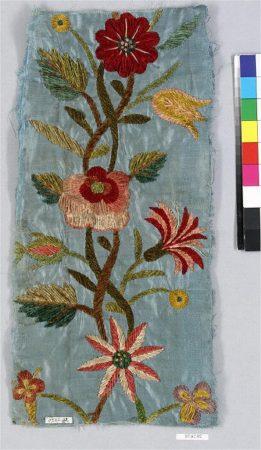 Spanish textile fragment. 18th century. The Metropolitan Museum of Art