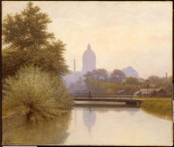 Richard Buckner Gruelle, The Canal--Morning Effect, 1894