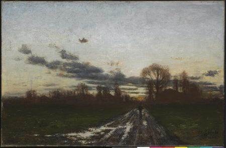 T. C. Steele, Sunrise, 1886