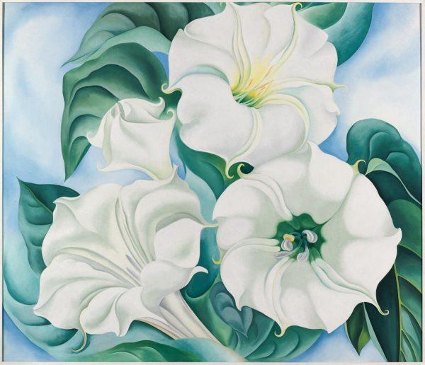 Georgia O'Keeffe, Jimson Weed, 1936