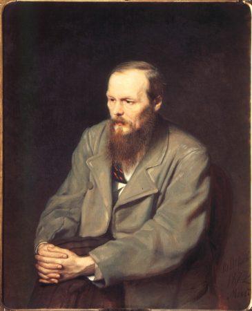Vasily Perov. Portrait of Fyodor Dostoevsky, 1872.