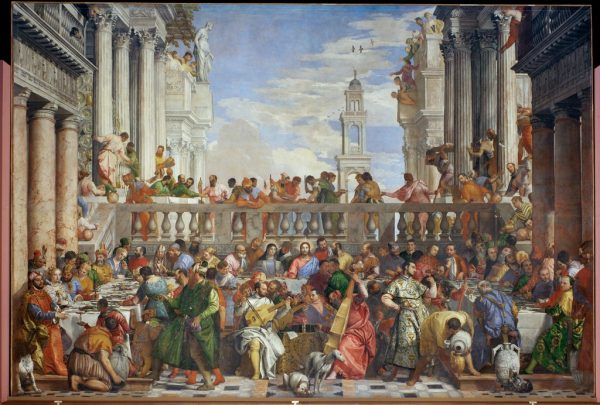 Paolo Veronese. Marriage at Cana, after restoration. 1563