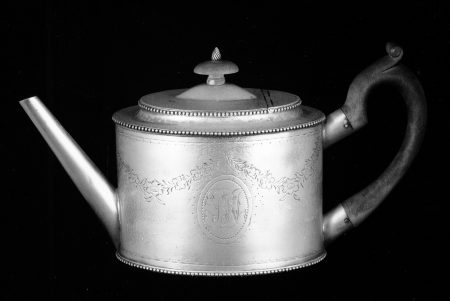 Paul Revere Jr. Teapot. c. 1785