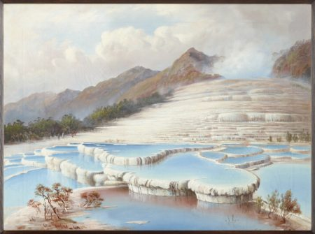 Charles Blomfield. White Terraces. 1882
