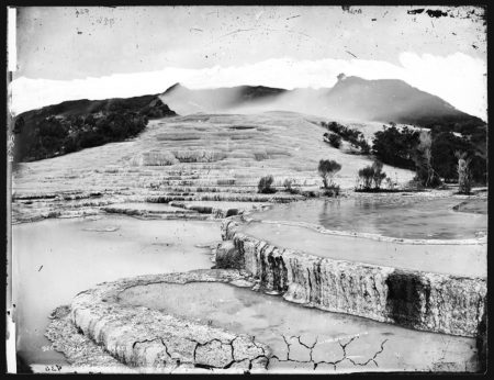 Alfred Burton. White Terraces. ca. 1885