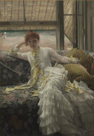 James Tissot. Seaside. 1878.