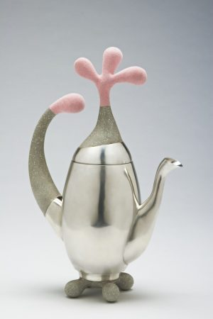 Christine Clark. Teapot with Pink. 2007.