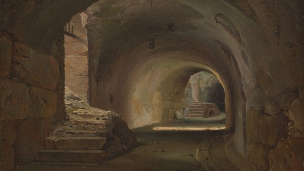 François Diday. Interior Passage in the Colosseum