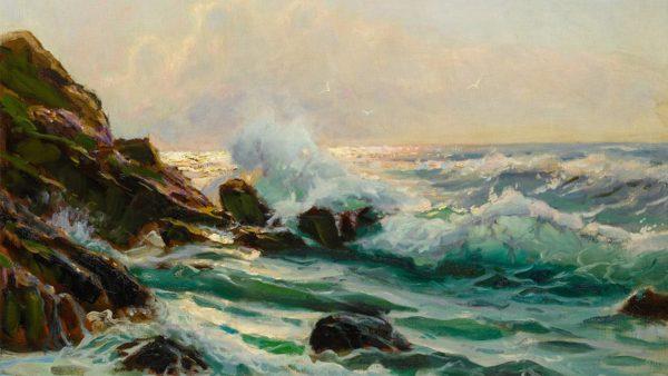 Constantin Alexandrovitch Westchiloff. Maine Seascape, 1930-45