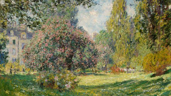 Claude Monet. Landscape: The Parc Monceau