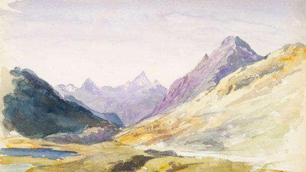 John Singer Sargent. Switzerland sketchbook, 1869