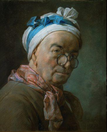Jean-Siméon Chardin. Self Portrait.