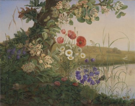 Christine Løvmand. Flower piece. 1841.