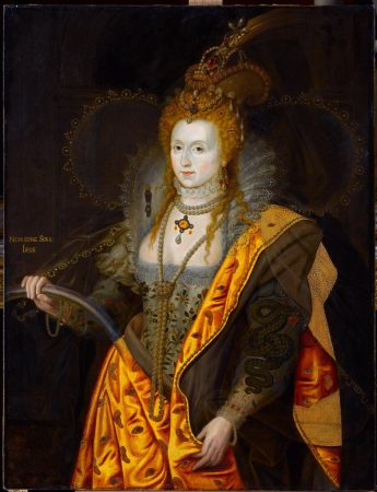 Painting of Elizabeth I, Queen of England and Ireland