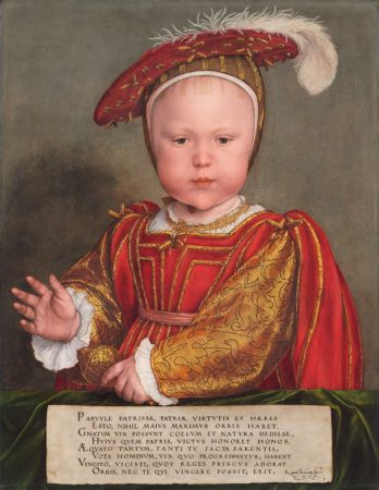 Painting of Edward VI as a Child