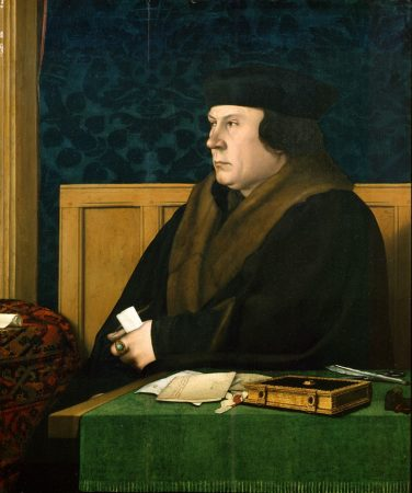 Painting of Thomas Cromwell