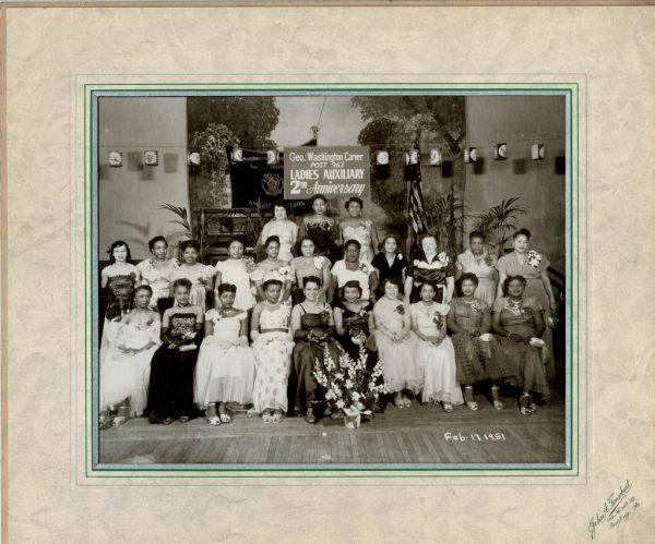 George Washington Carver Ladies Auxiliary. February 17, 1951