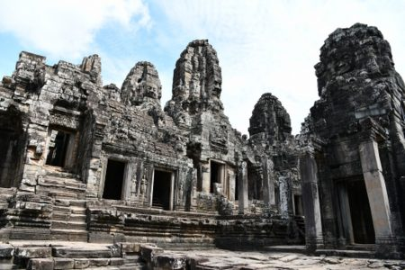 Khmer. Bayon, Angkor Thom.