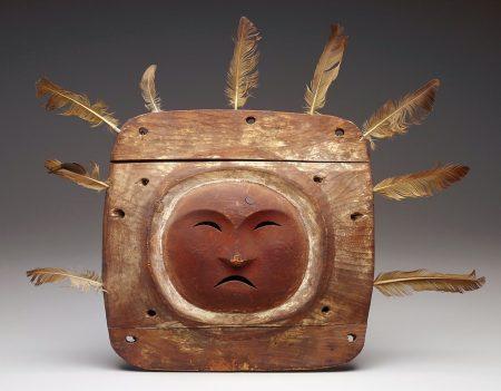 Unknown artist, Yup'ik. Mask. 19th - 20th century.