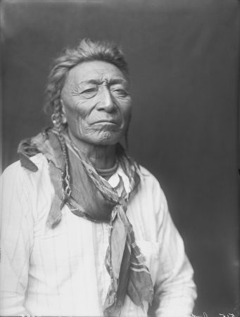 Richard Throssel. Bull Tongue in Partial Native Dress. 1910.